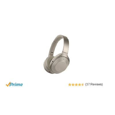 Sony Premium Noise Cancelling, Bluetooth Headphone, Grey Beige (MDR1