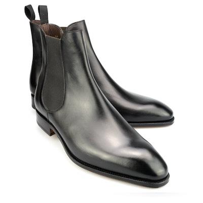 Mens Black Chelsea Boots | CARMINA