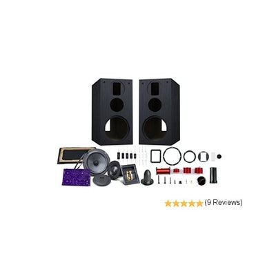 Amazon.com: HiVi - DIY 3.1A - 3.1 Bookshelf Speakers - Near-Field Speakers - DIY