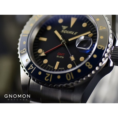 Squale Watches - 30 ATMOS Tropic GMT Ceramica - SEL Bracelet