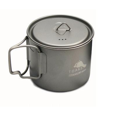 TOAKS LIGHT Titanium 550ml Pot (Ultralight version) – TOAKS OUTDOOR