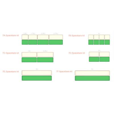 7. Spacebars Kits