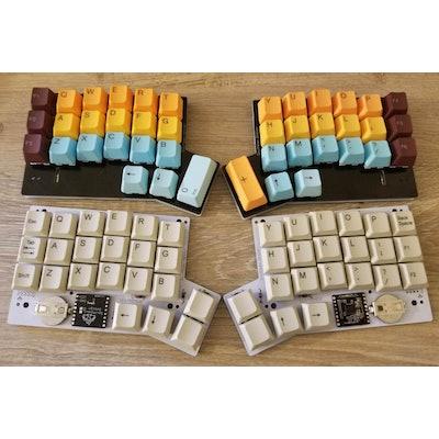 Centromere Wireless Keyboard – Southpaw Design