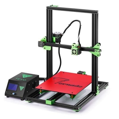 TEVO Tornado Most Assembled Full Aluminum Frame 3D Printer US PLUG