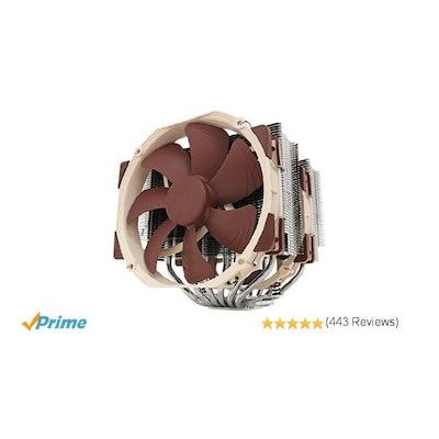 Amazon.com: Noctua NH-D15 6 heatpipe with Dual NF-A15 140mm fans: Computers & Ac