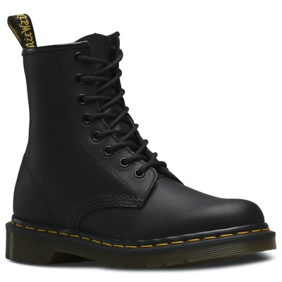 Dr. Martens 1460 - Black, Greasy Leather