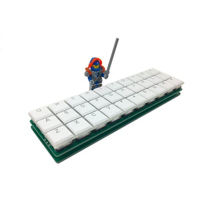 Dilly - 3x10 Ortholinear Keyboard for Kailh Choc Low-Profile Switches