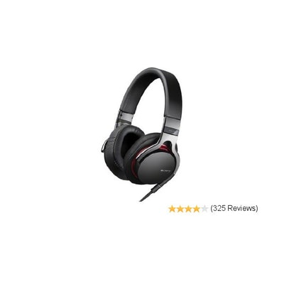 Sony MDR1R Premium Over-the-Head Style Headphones (Black)