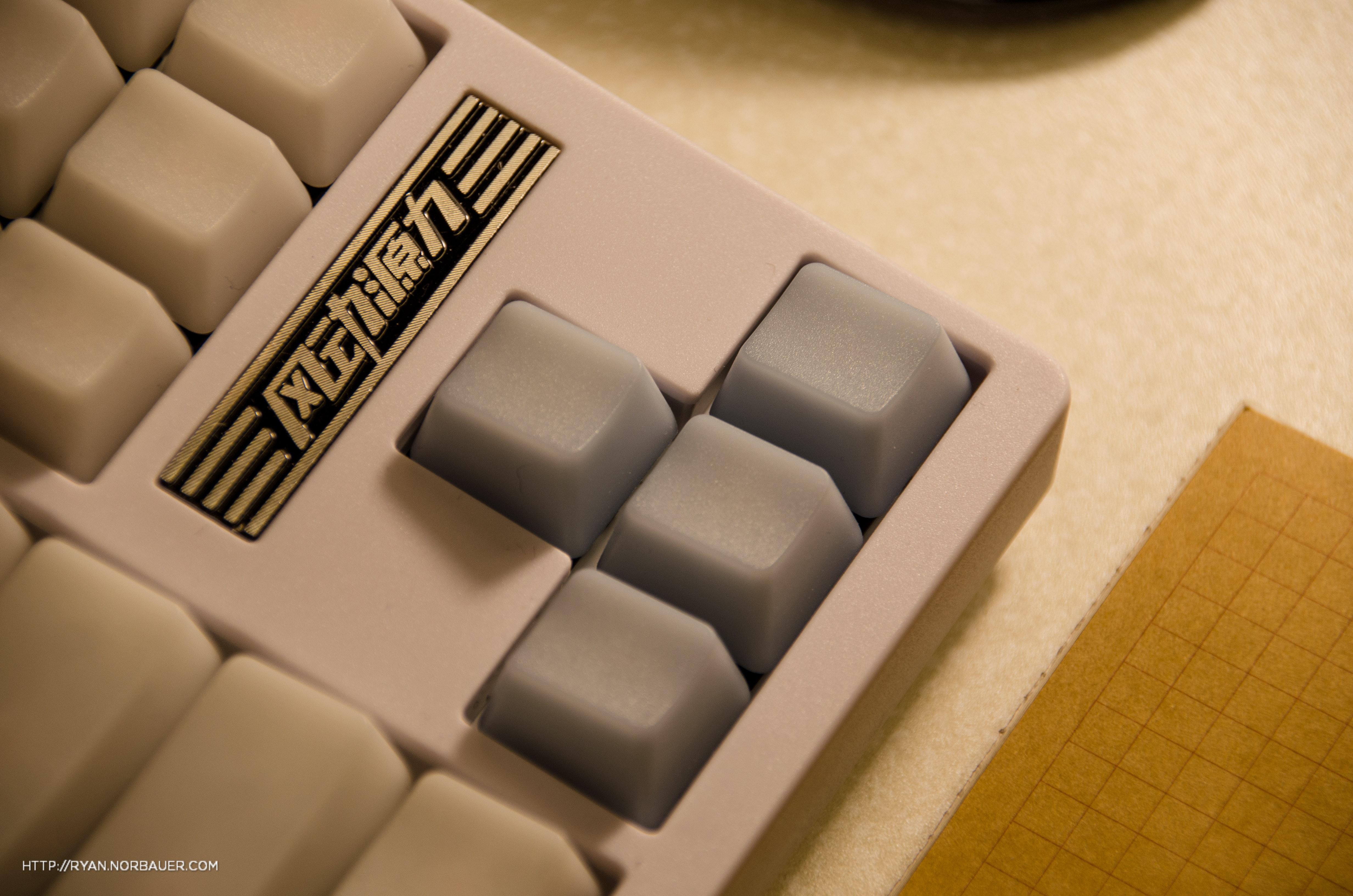 Grey Jelly POM Keycap