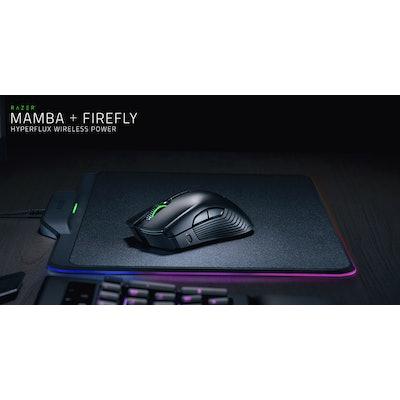Razer Mamba HyperFlux and Razer Firefly HyperFlux - Wireless Mouse & Mat