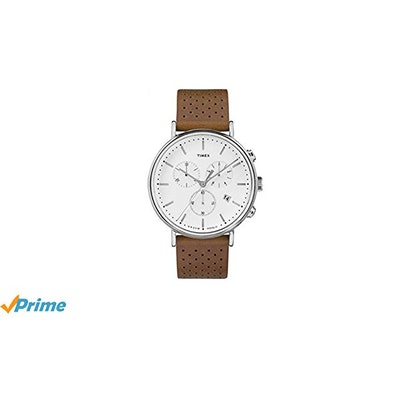 Amazon.com: Timex Men's Chronograph White Dial Watch 41MM: Clothing