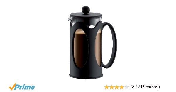 Amazon.com: Bodum New Kenya 12-Ounce Coffee Press, Black: French Presses: Kitche