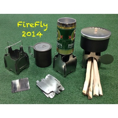 FireFly wood burning ultralight stove