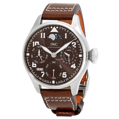 IWC Big Pilot Brown Dial Automatic Men's Watch /46mm - IW503 for $18,989 for sal
