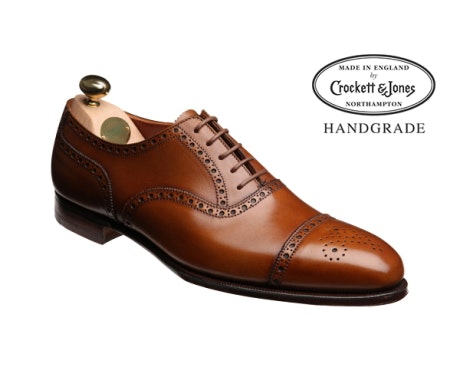 Crockett & Jones Barrington 2 Tan Antique Calf