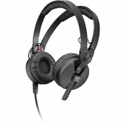 Sennheiser HD 25-1 II - On Ear DJ Headphone - Noise Reduction, Powerful bass res
