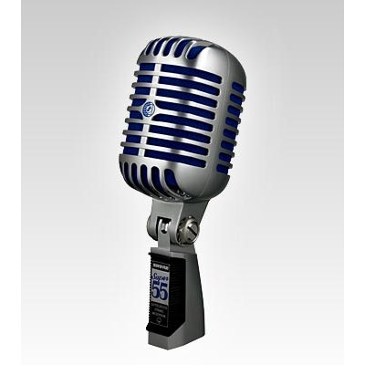 Super 55 Deluxe Vocal Microphone | Shure Americas