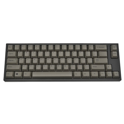 Leopold FC660C Gray Case 60% Dye Sub PBT Mechanical Keyboard with Topre 45g swit