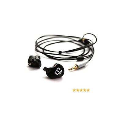 Erdre Audio EA H202B - Casque audio à écouteurs intra-auriculaires ergonomiques: