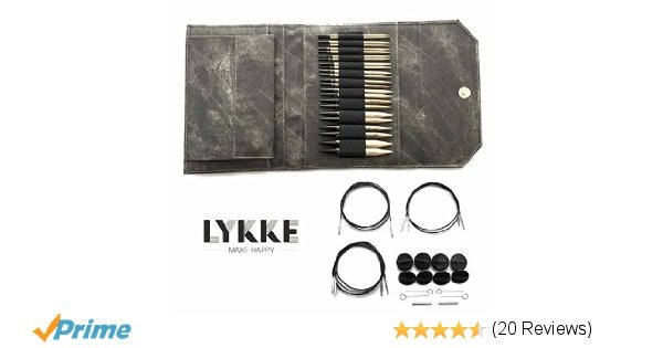 Lykke Driftwood Interchangeable Gift Set in Grey Denim Pouch: Home I