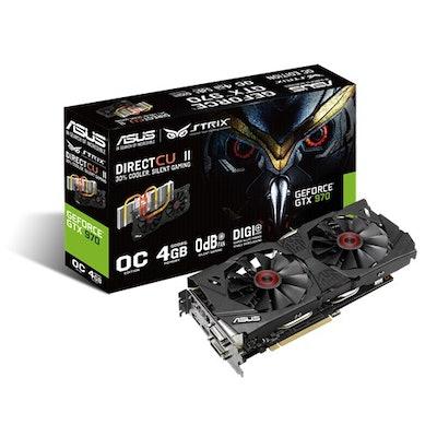 Asus Strix GeForce GTX 970 4GB GDDR5 (STRIX-GTX970-DC2OC-4GD5)