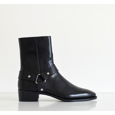 Story Et Fall 460 Black Calf Harness Boot
