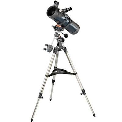 """Astronomics - AstroMaster 114 EQ, 4.5"""" Equatorial reflector"""