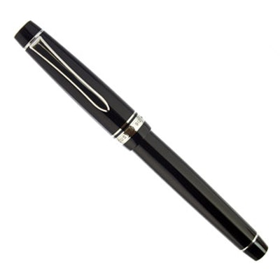 Pilot Custom 912 Fountain Pen - Black, Falcon