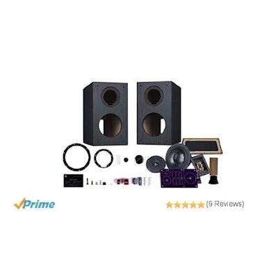 Amazon.com: HiVi - DIY 2.2A - 2.2 Bookshelf Speakers - Near-Field Speakers - Com