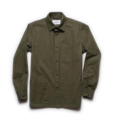 Olive Ventile Overshirt – Corridor