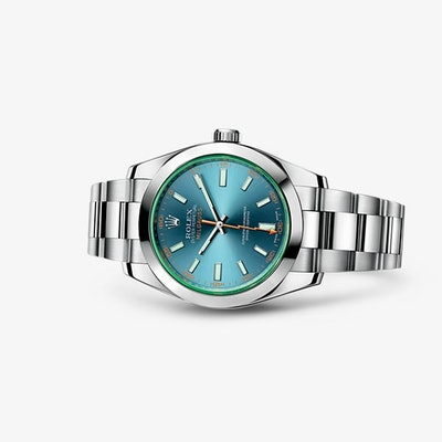 Rolex Milgauss Watch: 904L steel - 116400GV