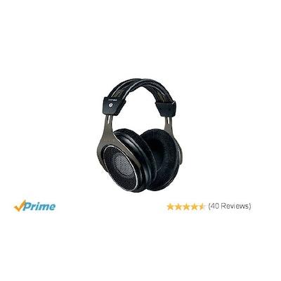 Shure SRH1840 Professional Open Back Headphones (Black): Musical Ins