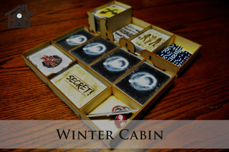 The Winter Cabin ( compatible with DEAD OF WINTER™ ) - Meeple Realty