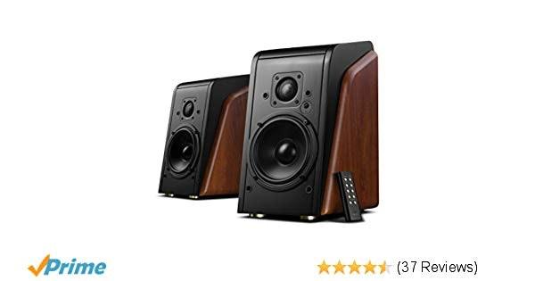 Amazon.com: Swan Speakers - M200MKII Wifi - Powered 2.0 Bluetooth Bookshelf Spea
