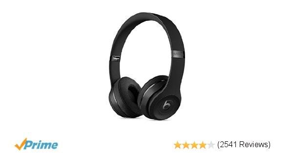 Amazon.com: Beats Solo3 Wireless On-Ear Headphones - Black: Electronics