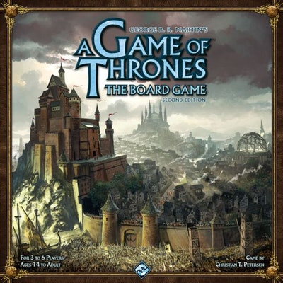 A Game of Thrones: The Board Game (Second Edition)   Board Game