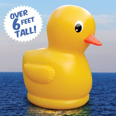 Giant Rubber Duck, Inflatable Rubber Duckie
