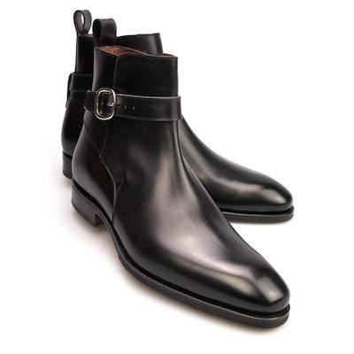 Carmina Black Jodhpur Chelsea Boots