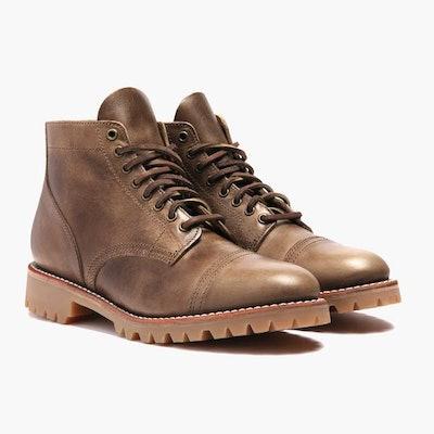 Natural Vanguard Boot | Thursday Boot Company                     Arrow Fat