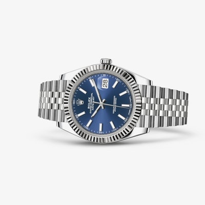 Rolex Datejust 41 Watch: White Rolesor - combination of Oystersteel and 18 ct wh