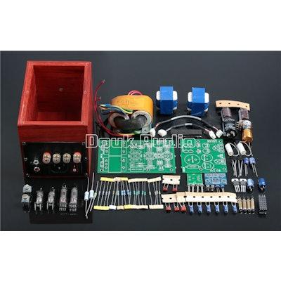 6P31B Tube Amplifier Desktop Amp DIY Kit for Old Fashioned Full Range Speakers