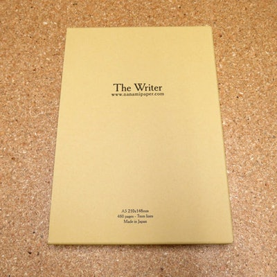 """Seven Seas """"WRITER"""" A5 Journal - 4th Edition - Nanami Paper and Supply"""