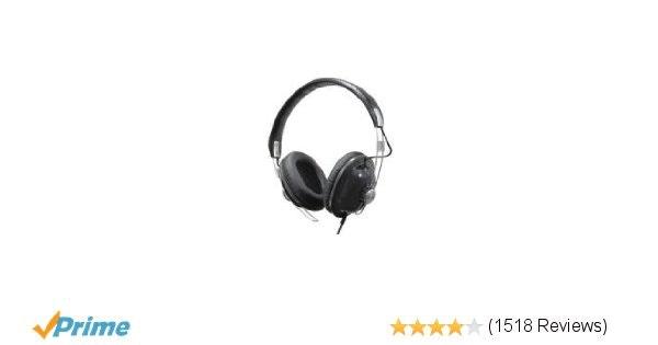 Panasonic Over-the-Ear Monitor Headphones RP-HTX7-K1