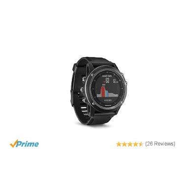 Amazon.com: Garmin 010-01338-71 Fenix 3 HR Sapphire Smart Watch: Cell Phones & A