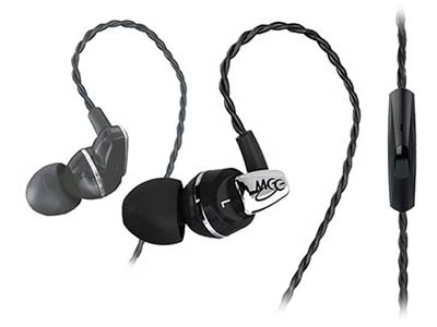 MEElectronics A151P Balanced Armature In-Ear Headphone with Inline Microphone an