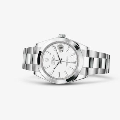 Rolex Datejust 41 Watch: Oystersteel - 126300