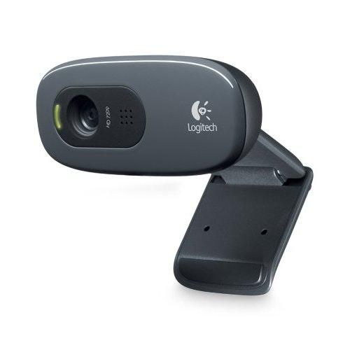 Logitech HD Webcam C270, 720p Widescreen Video Calling and Recording