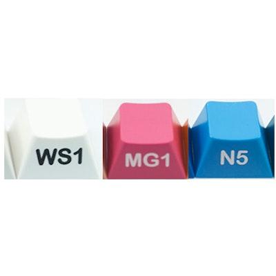 GMK dip: the semi-symmetrical, neon-colored keycap set Poll