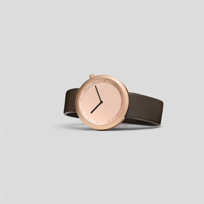 Bulbul Watches - Rose Gold Facette