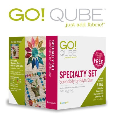 GO! Qube Specialty Set – Serendipity by Edyta Sitar : AccuQuilt